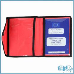 Porta libretto sanitario e passaporto